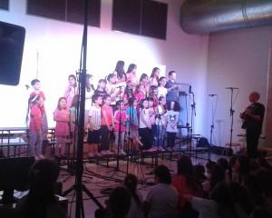 Harán encuentro de niños cantores