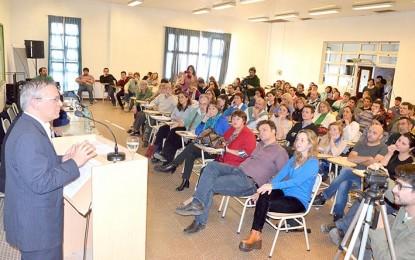 Negretti anunció la creación de un secundario propio, entre otras metas