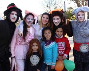 Quijotada festejó el Día del Niño