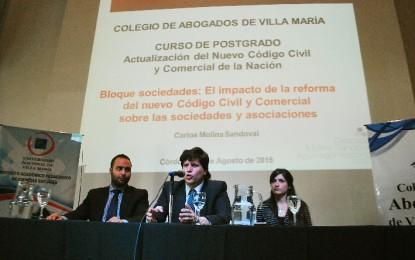 Un nuevo Código Civil y Comercial promovió la urgente capacitación