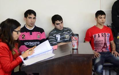 Cuatro condenados por una serie de delitos cometidos en la ciudad
