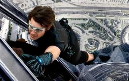 Una nueva misión junto a Tom Cruise