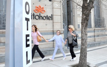 Se ocupó el 70% de las plazas en los hoteles