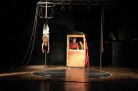 La puesta marplatense se ofreció el lunes en el cierre del Festival Internacional de Teatro (foto prensa del evento)