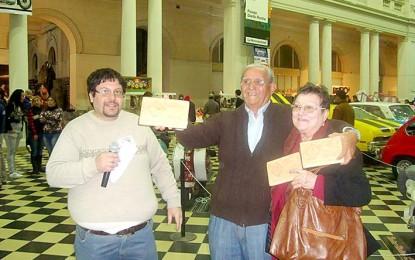 Coleccionista local ganó por segundo año el primer premio en exposición de La Plata
