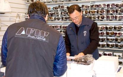 Secuestraron anteojos de marcas falsificadas que ponen en riesgo la salud de la población