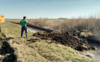 Policía Ambiental tapó un canal clandestino