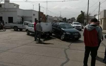 Tras seguidilla de choques, los vecinos reclamaron reductores de velocidad