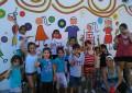 Comienza el Primer Encuentro de Muralistas,  que harán dibujos en un paredón