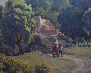 Jornada de pintura en vivo en el Híper