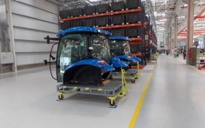 New Holland produce un nuevo modelo  de tractores en Córdoba