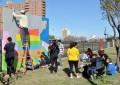 Un mural en el Parque de la Vida dejará testimonio de la campaña