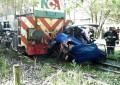 Fue arrollado por el tren