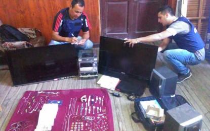 Recuperaron alhajas y otros artículos robados