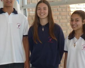 Alumnos trinitarios participan en certamen matemático en La Falda