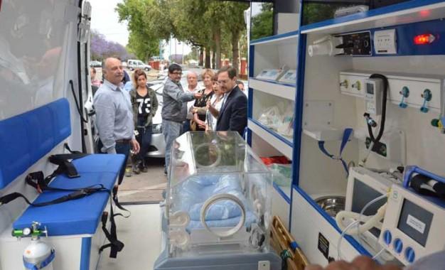 El Pasteur tendrá una ambulancia con equipamiento neonatal
