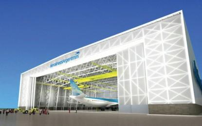 Aerolíneas Argentinas tendrá el hangar más grande de Sudamérica