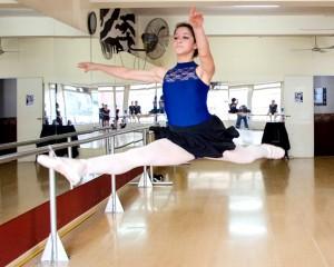 Bailarinas locales fueron elegidas para estudiar en Nueva York