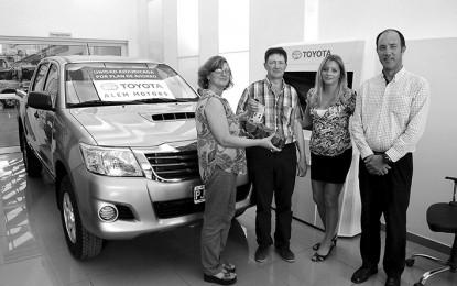 Alem Motors entregó la primera unidad O km adquirida mediante plan de ahorro