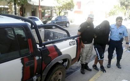 Sujetos detenidos por robo calificado