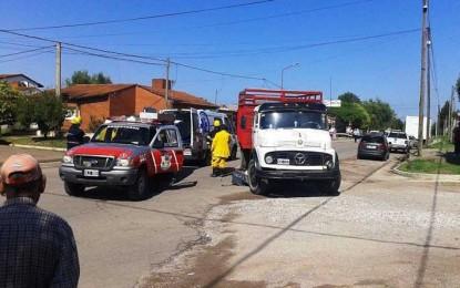 Dos muertos en rutas y calles del interior de la provincia