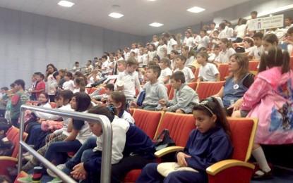 Más de 600 alumnos primarios participaron de evento cultural
