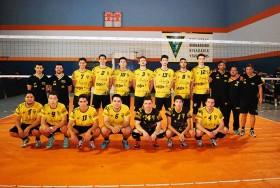 El equipo de Rivadavia que semanas atrás logró la clasificación en el triangular disputado en esta ciudad