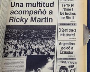 Ricky, veinte años atrás