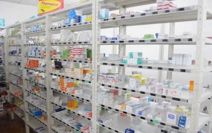 Comunicación periódica de falta de remedios en un portal oficial