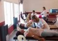 Más de 130 personas se registraron como donantes de sangre y médula