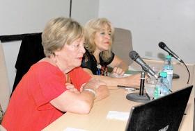 Susana Barco fue presentada por Soledad García Quiroga, también detenida en campos de concentración