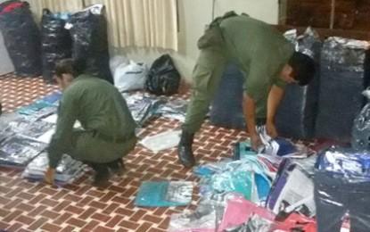 Operativo de Gendarmería: detuvieron dos colectivos en el acceso a la ciudad