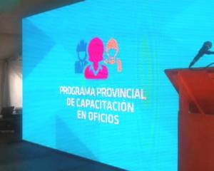 Se lanzó el Programa Provincial de Capacitación en Oficios