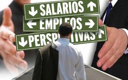 Caída de la demanda de trabajadores