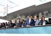 Natalio Graglia abrió el desfile con críticas al Gobierno nacional