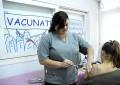 Ya vacunan contra la gripe en los CAPS