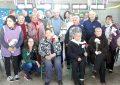 Festejo e intercambio cultural para los abuelos del Hogar de Día