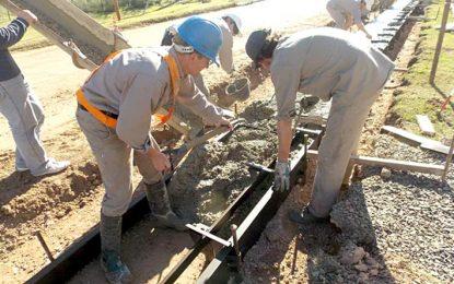 Ejecutan obras con fondos aportados por empresas
