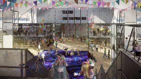 En el lugar podrían realizarse diversas actividades que requiera la comunidad, como eventos callejeros y ferias, entre otros