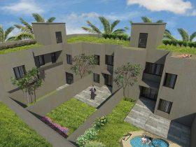 Cada departamento de este complejo habitacional tendrá su propia terraza verde