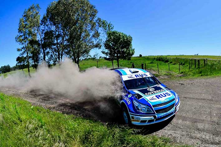 Nalbandian sufrió impactante accidente en rally de Argentina