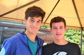 Tamagnone y Caula, cerraron una intensa jornada de tenis