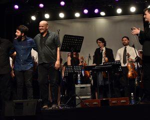 """El espectáculo """"Soda Stereo Sinfónico""""se estrenó en Mundo Rojo"""