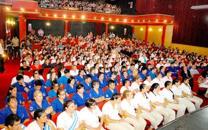 Casi 400 egresados protagonizaron el acto académico de la Fundación CIEP