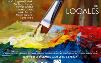 Artistas locales exponen en AERCA