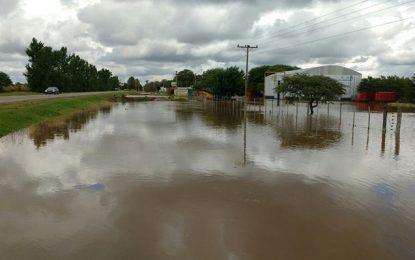 Volvieron la lluvia y la inundación