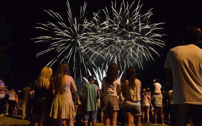 El recorrido peñero se iniciará con el festival de fuegos artificiales