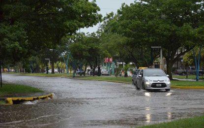 Aparte de los desagües, diseñaron  un sistema de escurrimiento de aguas