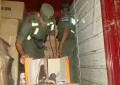 Decomisaron un camión con una carga de zapatillas valuada en 6.387.000 pesos