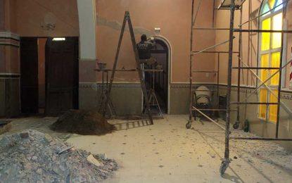 Avanzan en la reconstrucción de la iglesia parroquial